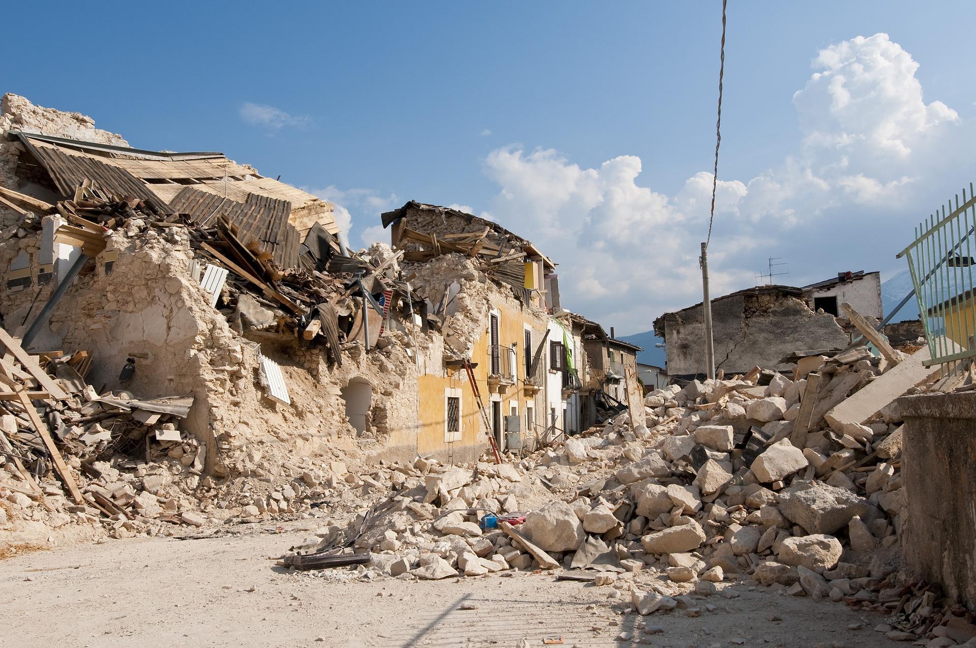 zemetrasenia