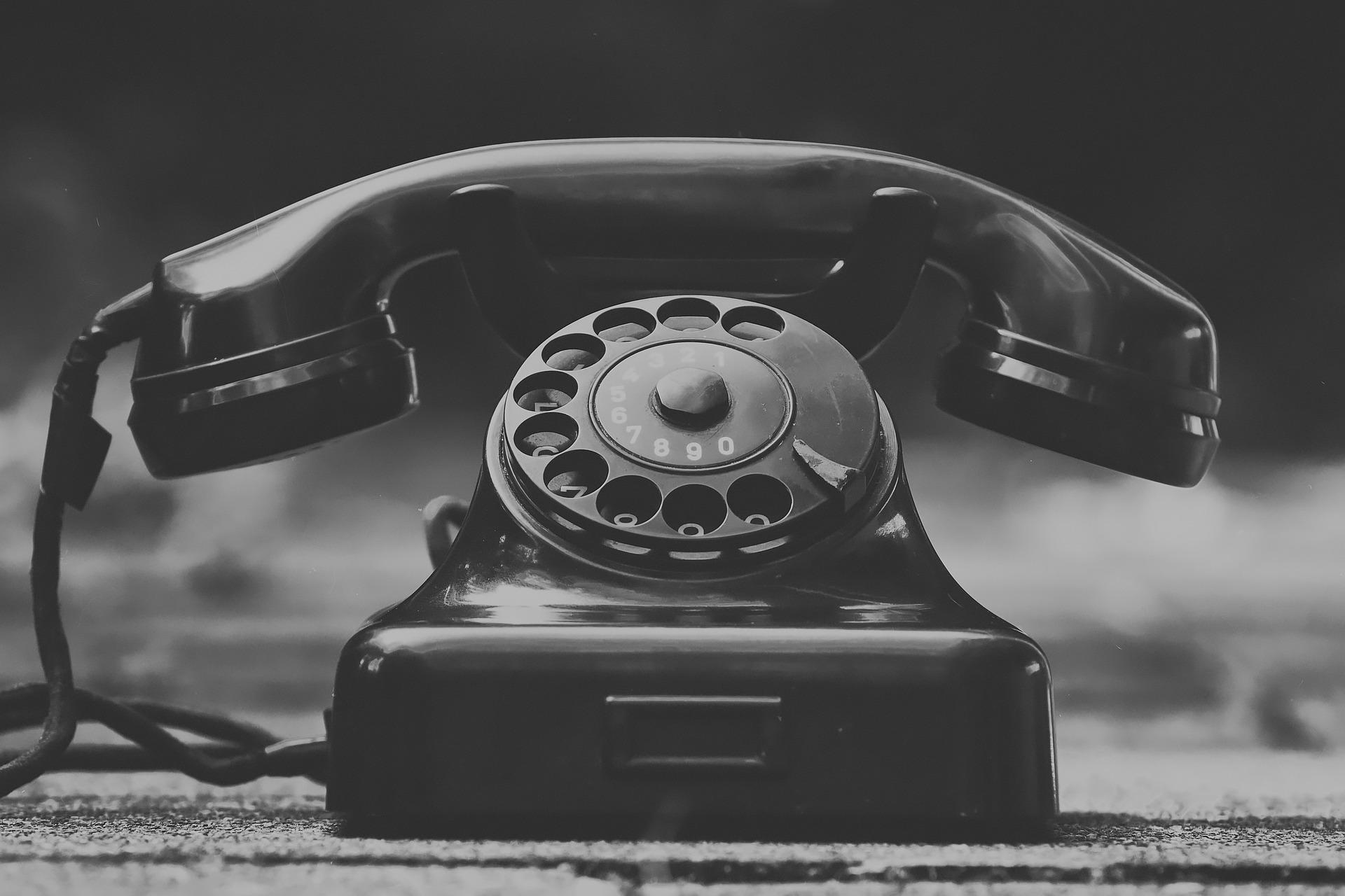 história telefónov