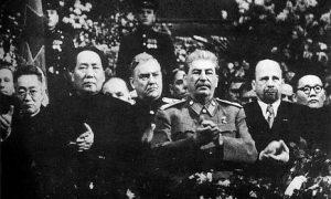 Pseudopriateľstvo Čínskej ľudovej republiky aSovietskeho zväzu