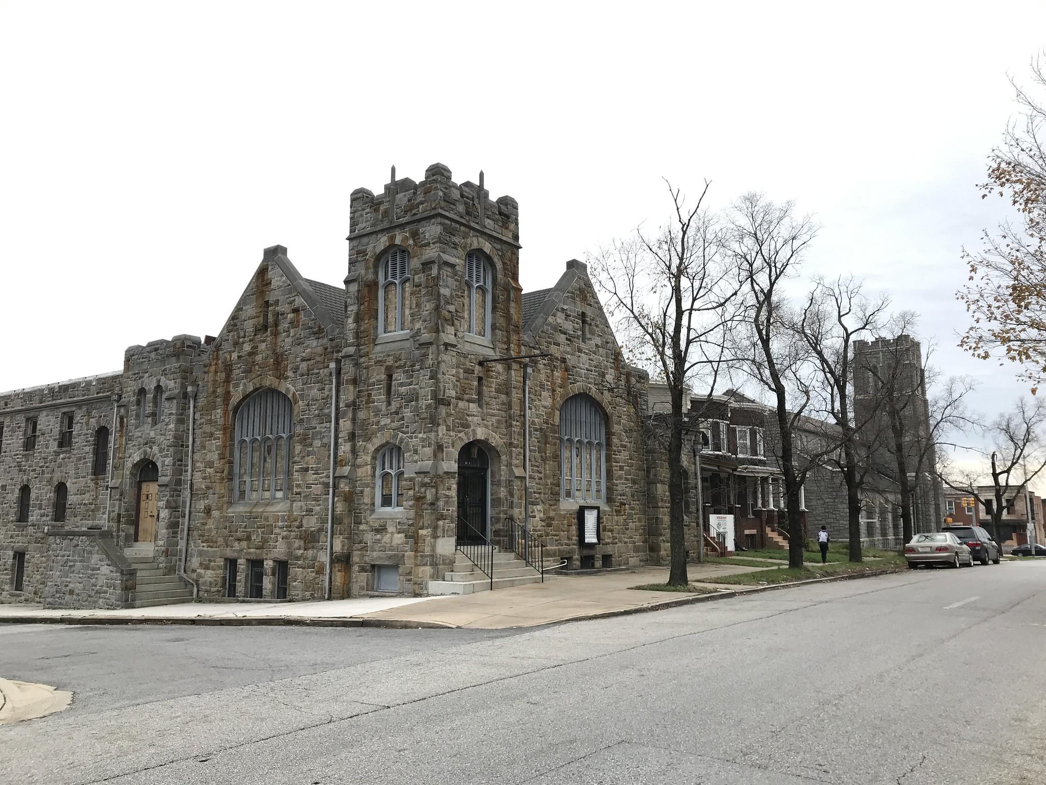 Prekliate miesta: Kostoly a paranormálne javy. Baltimore