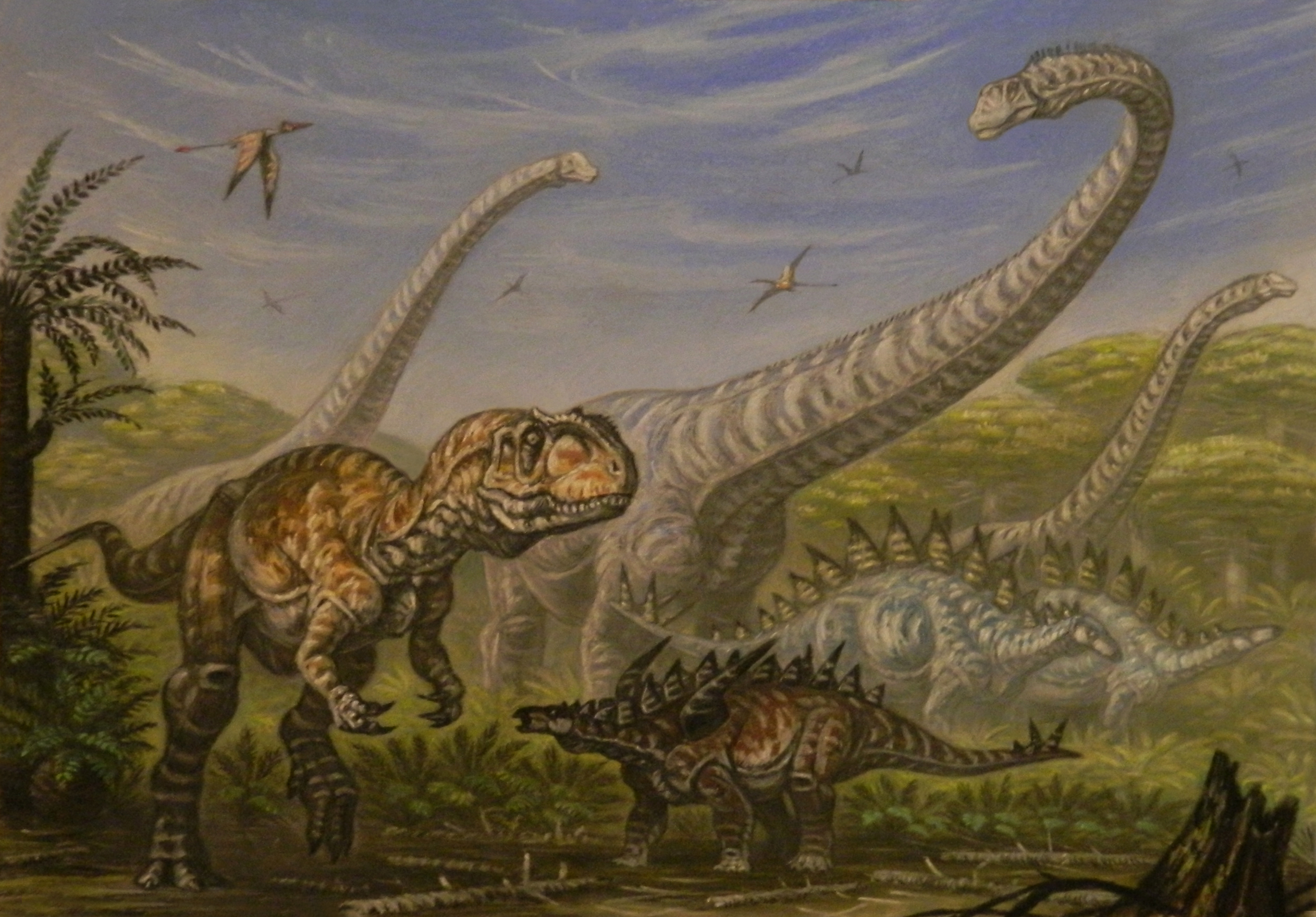 Čo spôsobilo vyhynutie dinosaurov? (2. časť)