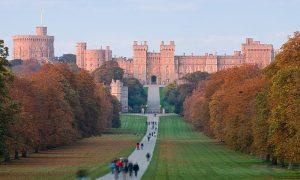 Desivé hrady azámky: Zámok Windsor aškótsky Edinburgh