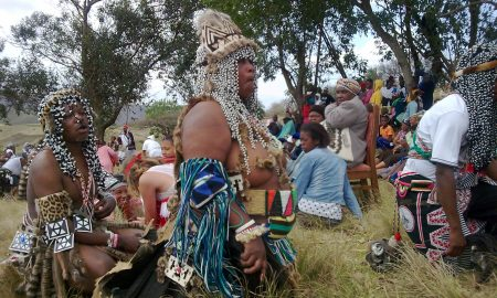 Južná Afrika atypickí Sangomovia (Šamani)