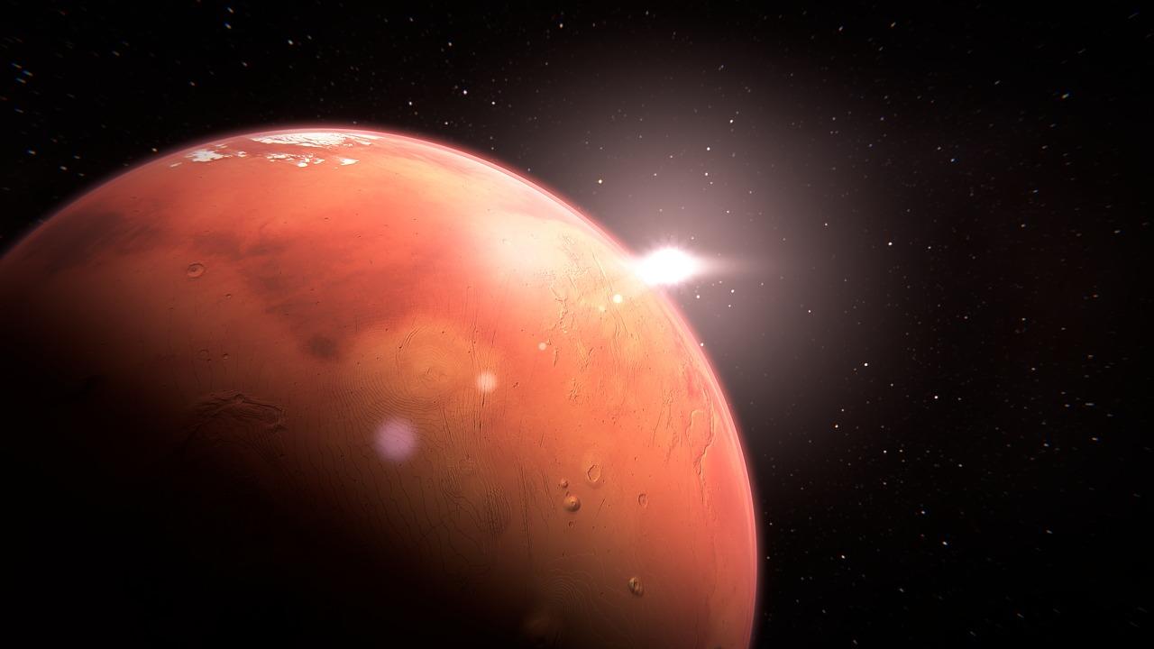 Ľudská tvár na planéte Mars