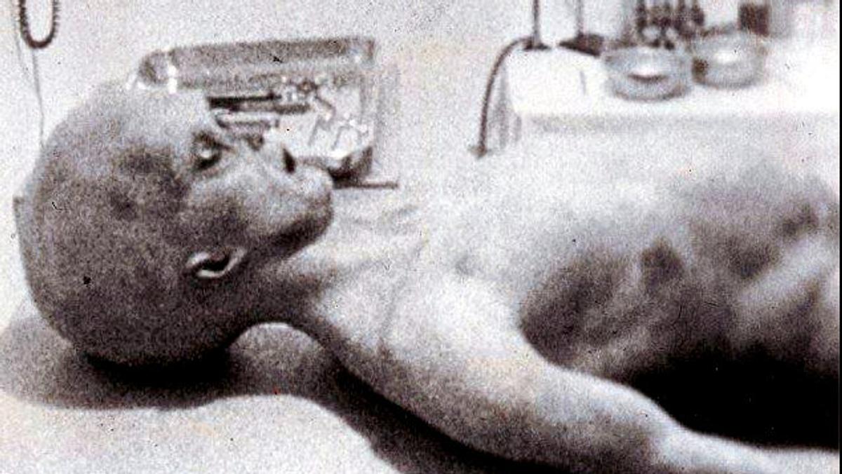 Spozorovania UFO: Britský Roswell v roku 1974