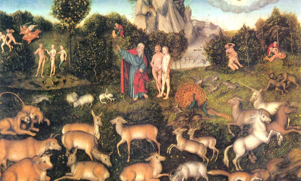 Biblický príbeh zknihy Genezis: Rajská záhrada 1. časť