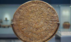 Záhadné hieroglyfy aFaitský disk