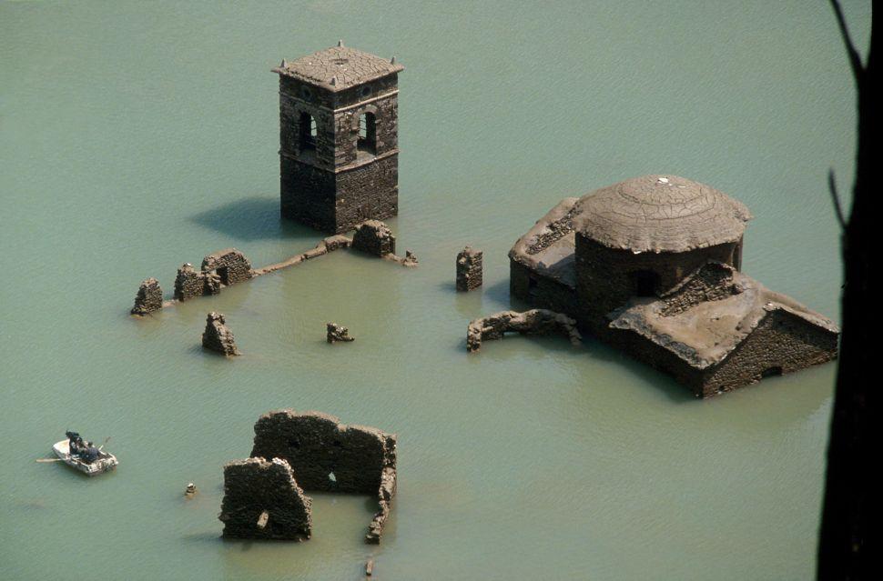 Podvodné talianske mesto duchov sa môže objaviť budúci rok