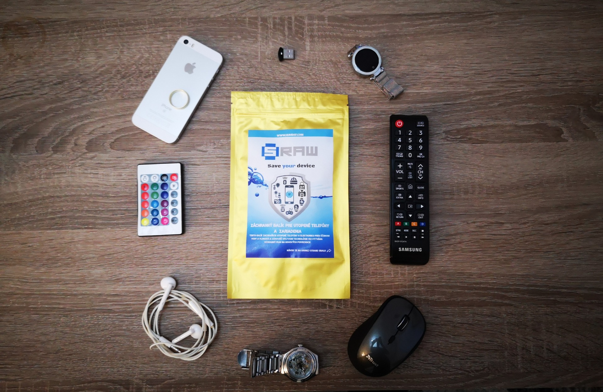 Slovenská nanotechnológia Humidef ochráni tvoju elektroniku!