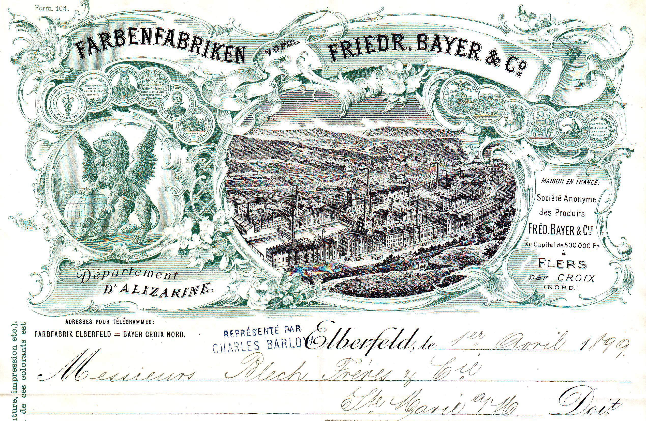 Inšpiratívny príbeh spoločnosti Farbenfabriken vormals Friedrich Bayer (1. časť)