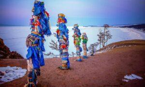 Obávaní šamani smocou zvierat aindiánske kmene Severnej Ameriky