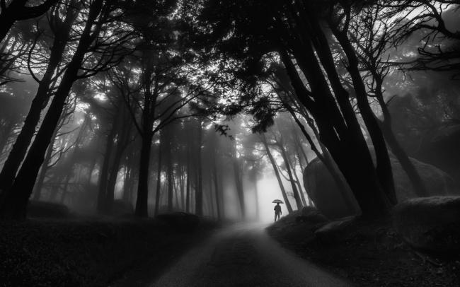 čiernobielych fotografií