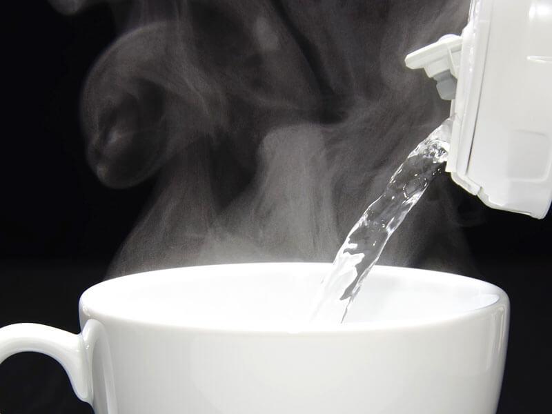 horúcej vody